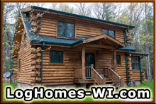 Wisconsin Log Homes for Sale
