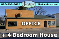1800399, Commercial Building with 4 bdrm home attached