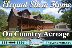 1861113, Wisconsin Log Home for Sale SAMPLE LISTING